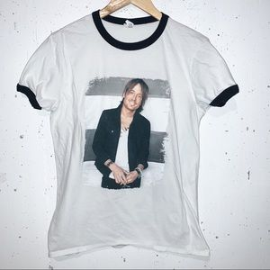 Keith Urban Ripcord 2016 World Tour Concert Band Tee T-shirt Country Music